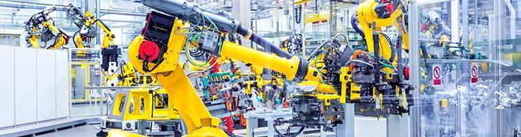 Produkcja przemysłowa coraz słabsza