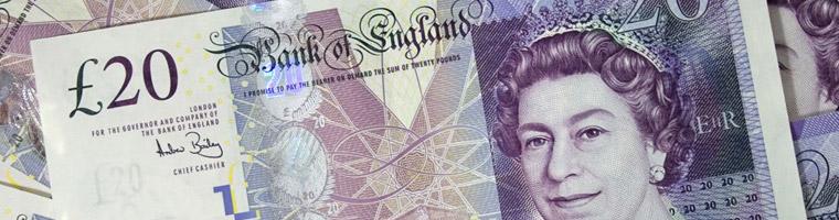 Wyższa inflacja sprzyja funtowi
