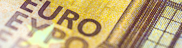 Strefa euro: inflacja bez zmian, EUR też
