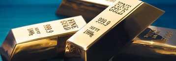 Cena złota odbija