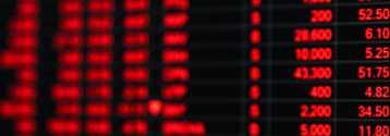 Przecena na rynku akcji