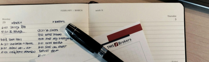 Dzień na rynku, dzień w TMS Nonstop: 9 VII