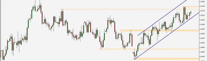 USD/CAD - wykres 1D; Źródło: TMS Connect