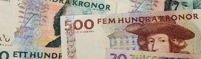 Kiepska sprzedaż detaliczna osłabia koronę szwedzką