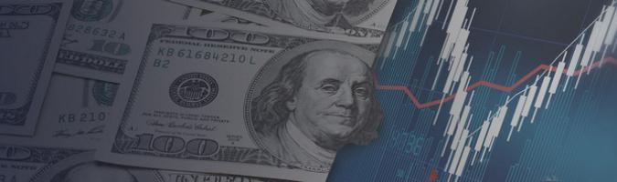 Dolar na dziennych maksimach