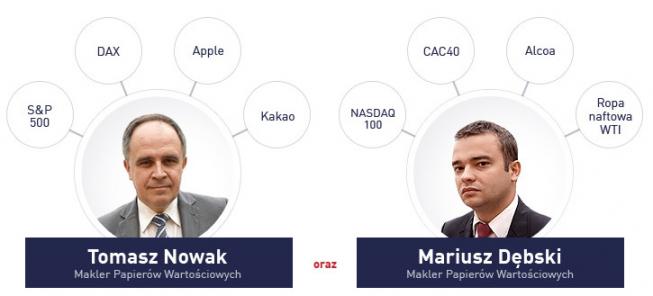 Materiał wideo - strategie maklerów