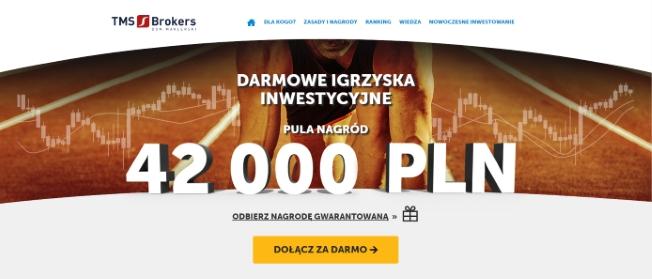 Igrzyska Inwestycyjne - konkurs TMS Brokers