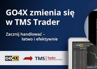 GO4X zmienia nazwę na TMS Trader - ważne szczegóły zmiany